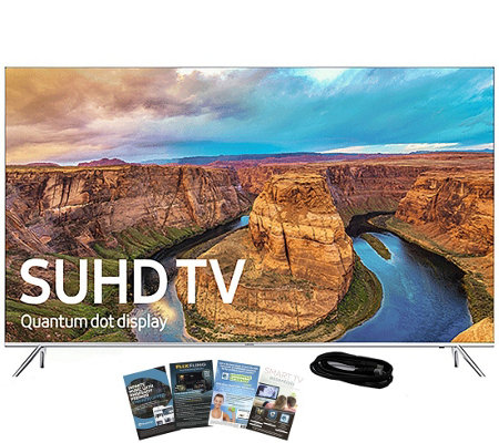 "Samsung 49"" Class LED Smart SUHD TV with App Pack & HDMI Cabl"