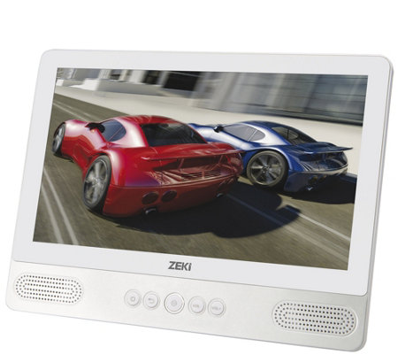 "Zeki 9"" Tablet/Portable DVD Player Combo"