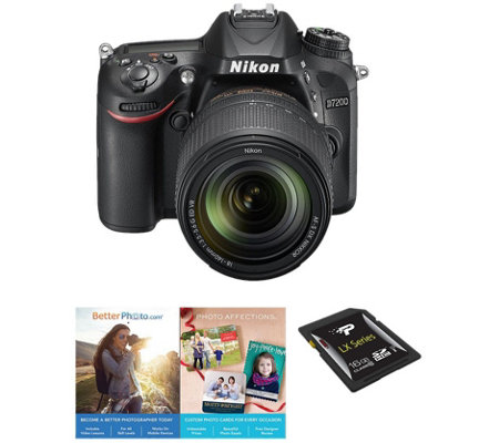 Nikon D7200 DX 24.2MP DSLR Camera with 18-140mmLens