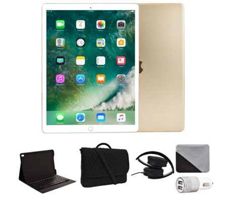 "Apple iPad Pro 10.5"" 256GB Wi-Fi with Accessories - Gold"