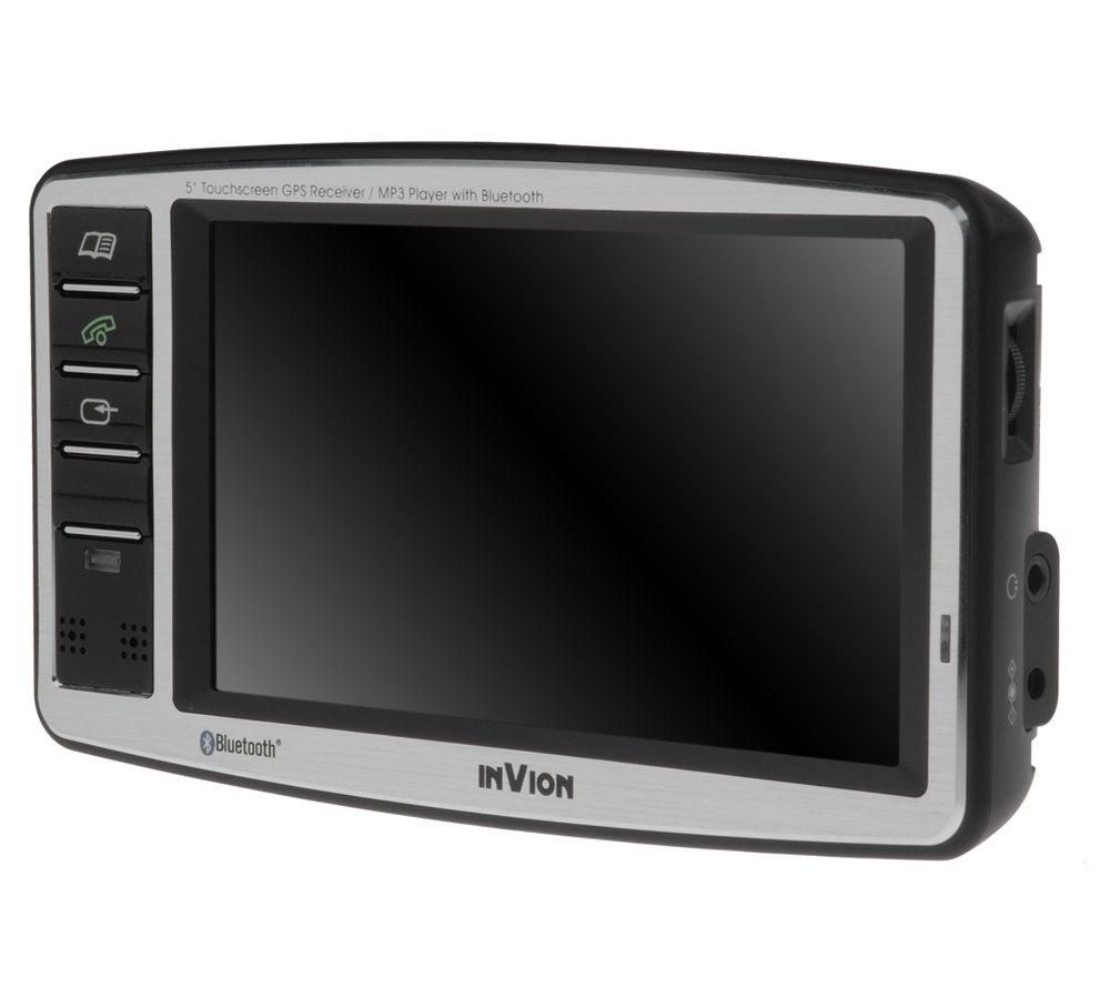 Invion Gps Navigation Sys W  Diag Lcd Touchscreen Bluetooth Page  Qvc Com