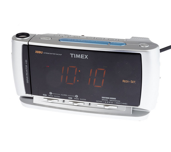 timex projection alarm clock unique alarm clock. Black Bedroom Furniture Sets. Home Design Ideas