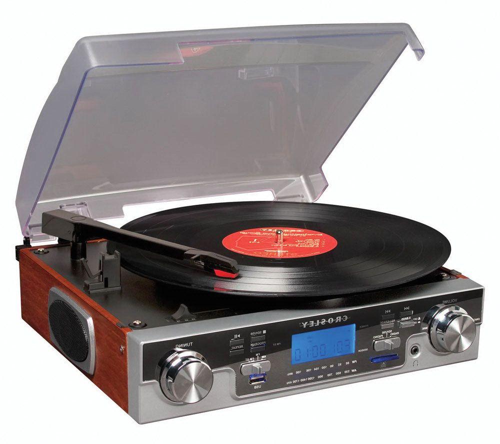 Crosley Radio CR6007A Encoding Series Turntable   Page 1 U2014 QVC.com