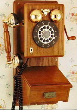 Elegant Crosley CR91 Corded Country Kitchen Wall Phone U2014 QVC.com