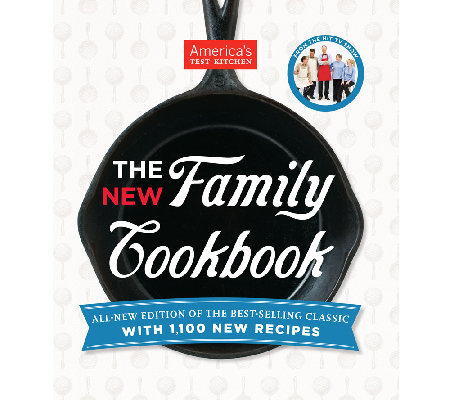 """The New Family Cookbook"" by America's Test Kitchen"