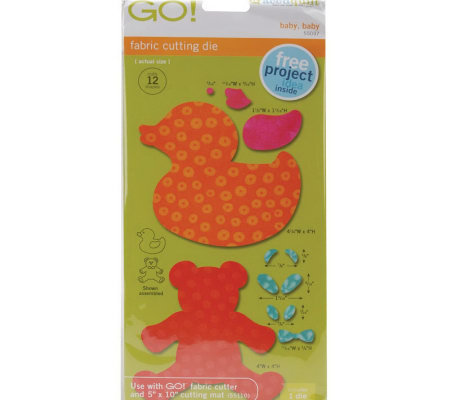 "GO! Fabric Cutting Dies - 2"" Styles"