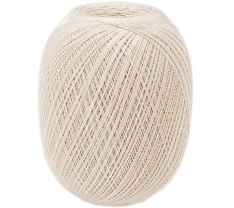 Aunt Lydia's Crochet Cotton Classic Jumbo Size10 - Natural - F247100