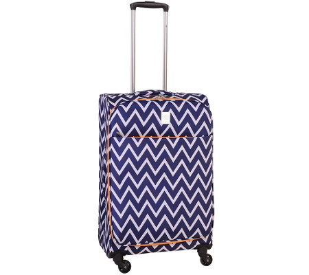 "Jenni Chan Aria Madison 25"" Spinner Luggage"