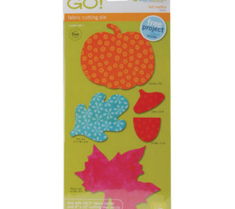 "GO! Fabric Cutting Dies - 4"" x 4"" - F195902"