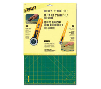 Olfa Rotary Essentials Kit - F246702