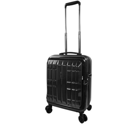 "Travelers Club 18"" Flex-File Hardside Spinner Laptop Carry-On"