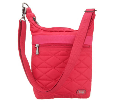 Lug Quilted North/South RFID Crossbody - Skipper