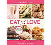 """Eat What You Love"" Paperback Edition by Marlene Koch - F12705"