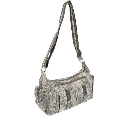 Travelon Nylon Organizer Hobo Bag with Cargo Pockets - Page 1 ...