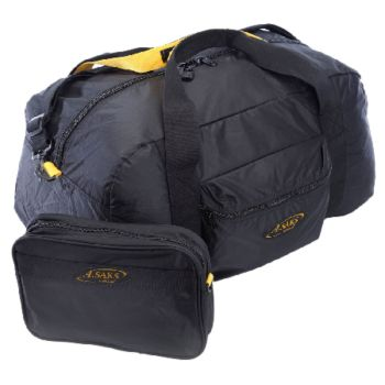 A.Saks 22-inch Lightweight Carry-on Parachute Nylon Duffel Bag