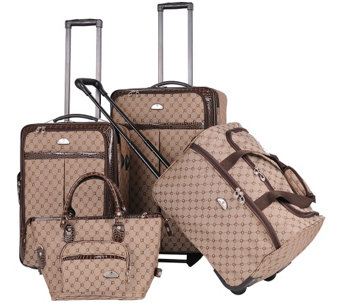 American Flyer Signature 4-Piece Luggage Set - F249208