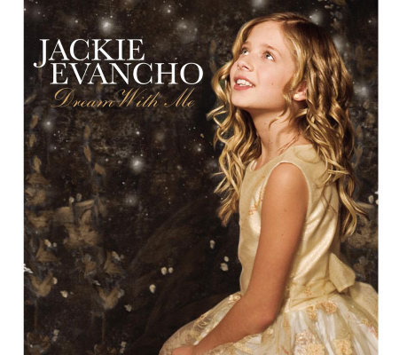 Jackie Evancho Dream With Me 14 Track CD with Bonus DVD