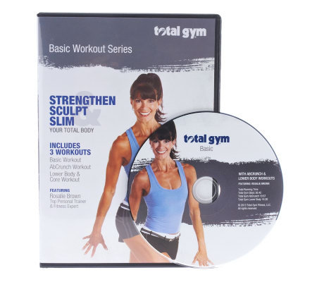 Total Gym Basic Workout Series DVD With Rosalie Brown