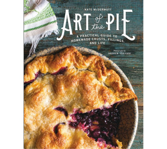 """Art of the Pie"" Cookbook by Kate McDermott - F12509"