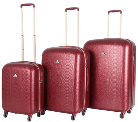 Triforce Luggage 3-Piece Luggage Set - Everglades