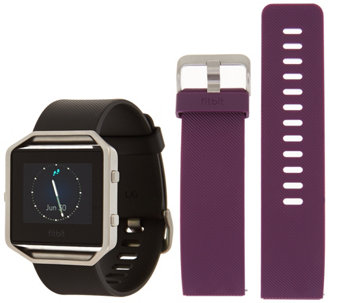 Fitbit Blaze Fitness Watch with Additional Classic Band - F12510