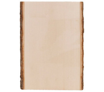 Basswood Country Rectangle Plank - F187310