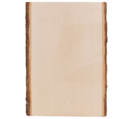 Basswood Country Rectangle Plank