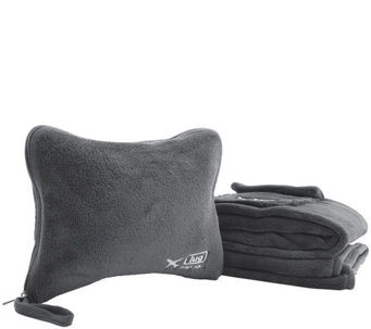 Lug Nap Sac Blanket & Pillow Set - F249310