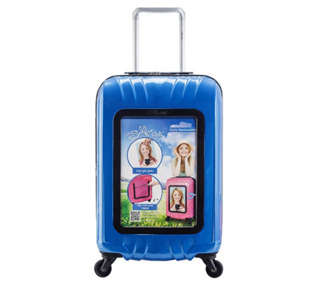 "Travelers Club 20"" Personalized Carry-On Luggage - Selfie"