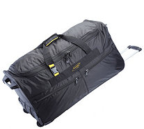 "A.Saks 31"" Expandable Rolling Upright Duffel Bag - F249112"