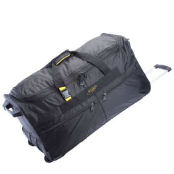 A.Saks 31 Expandable Rolling Upright Duffel Bag