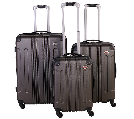 American Flyer Kova Hardside 3-Piece Spinner Luggage Set