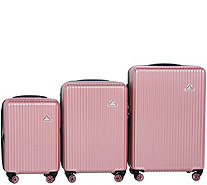 Triforce Luggage Set of 3 Spinner Luggage - Sobe - F13313
