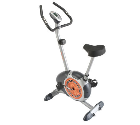 Crescendo Fitness Magnetic Resistance Upright Exercise Bike