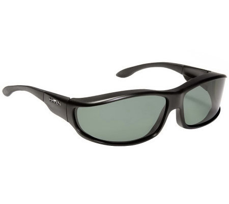 Haven Hunter Polarized Fits Over WrapAround Sunglasses w/Pouch