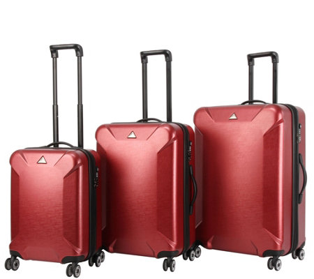 Triforce Luggage 3-Piece Luggage  Set - Oxford