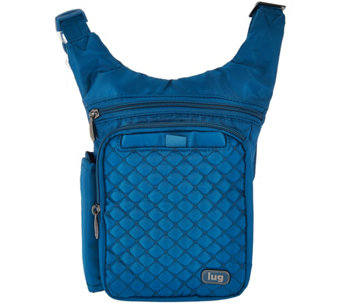 Lug Quilted RFID Crossbody & Waist Pack - Hopper - F12214