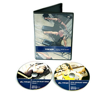Total Gym Blast Workout with Two 15-Minute DVDs - F248114