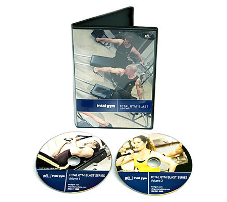 Total Gym Blast Workout with Two 15-Minute DVDs