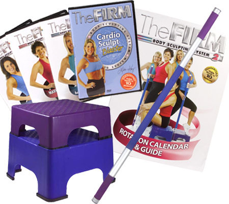 The Firm Body Sculpting System Ii With Sculpting Stick