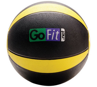Gofit 10-lb Medicine Ball & Core Training DVD - F195416