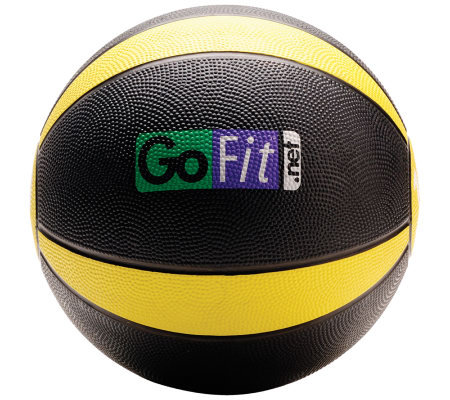 Gofit 10-lb Medicine Ball & Core Training DVD