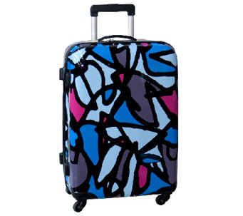 "Ed Heck Scribbles Hardside 25"" Spinner Luggage - F249216"