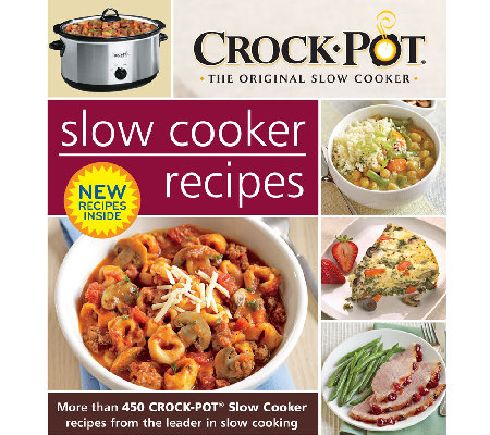 """Slow Cooker Recipes"" Cookbook by Crock Pot"