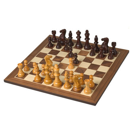 Excalibur xc6000wd10 deluxe wooden chess set - Deluxe chess sets ...