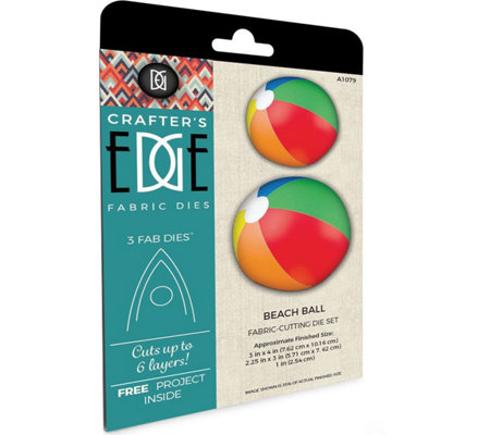 Crafter's Edge Beach Ball Fabric Cutting Dies