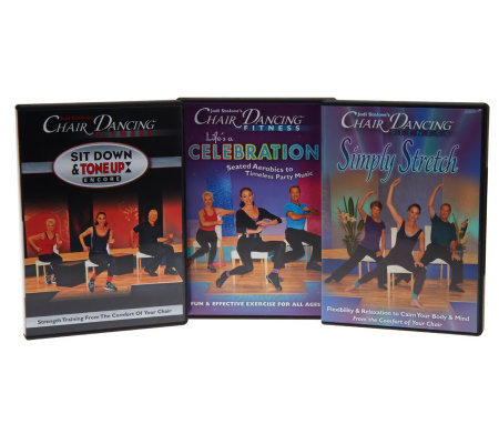 Chair Dancing Fitness Essentials DVD Program