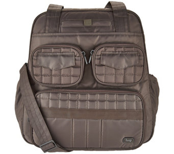 Lug Quilted North/South Overnight Bag - Puddle Jumper 2 - F12218