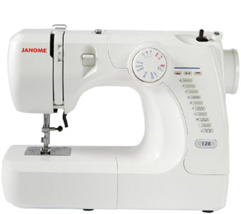 Janome 128 Mechanical Sewing Machine - F249318