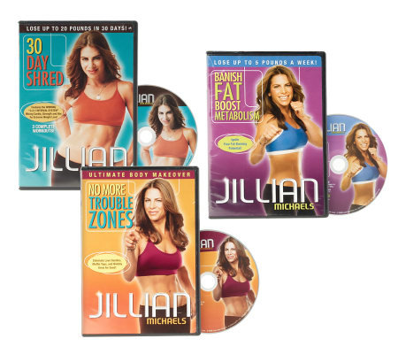 JillianMichaels Ultimate Body Makeover 3 DVD Workout Set